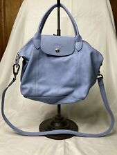 Longchamp Le Pilage Cuir Leather Tote Bag Purse Crossbody