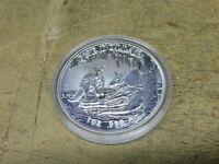 Australien , 2018 , 1 $ , 1 Unze Silber , Känguru mit PRIVY MARK 25