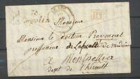 1842 Lettre Cursive 78 Cogolin (26mm) + CAD T14 LE LUC +PP 78 VAR Superbe P3682