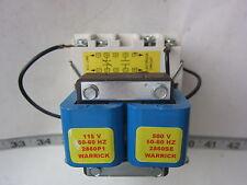 Warrick Controls Gems 1D1E0 115/500V 1NC 1NO Control Relay, New