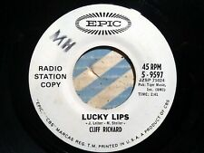 Cliff Richard - Lucky Lips / The Next Time - Epic 9597 - Promo !! 🔊