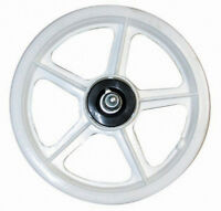 "Wheel Master 12"" Scooter Mag Wheels // White"