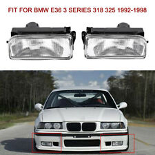 Front Bumper Fog Light Lamp Housing for BMW E36 3 Series 1992-1998 Left H8Q4
