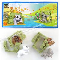 EN510 ~ KINDER Joy Surprise Eggs Toy China set of 2 FOREST GAMEs EN510A
