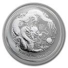 2012 Lunar Year of Dragon Series II 1oz Silver Bullion Coin - Perth Mint 1 oz