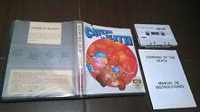 Msx Caverns of the death run stop juliet 1987 spain Big Clam England rare complete