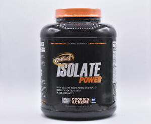 OHYeah! Isolate Power High Quality Protein Powder, Cookies & Cream 4lb EXP:12/21