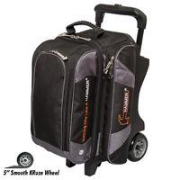 Hammer 2 Ball Premium Roller Bowling Bag Black Carbon Fast Shipping