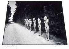 Eikoh Hosoe: Sunflower Children, Arles, France, Signed Silver Gelatin Print 1983