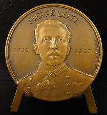 Médaille Louyis Viaud Pierre Loti messageries maritmes 1953 Licorne Unicorne