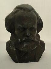 USSR STATUE BUST KARL MARX Marks SOVIET RUSSIAN Lenin / sculptor Aksenov 196s