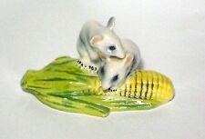 Goebel Two Mice on an Ear of Corn Porcelain Figurine W. Germany Figure 1975