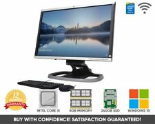 """HP Compaq 8300 23"""" Ultra Slim All in One PC Intel Core i5 Quad 8GB 480GB SSD"""