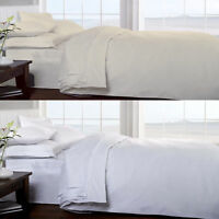 100% EGYPTIAN COTTON SATEEN Luxurious 400 Thread Count Soft Fitted Bed Sheet
