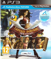 Captain Morgane and the Golden Turtle Sony Playstation 3 PS3 12+ Adventure Game