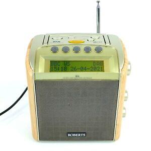 Roberts RD-8 FM / RDS / DAB Portable Digital Radio - Live pause & Rewind      49