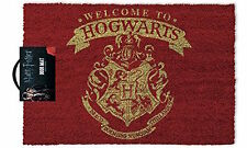 "Harry Potter Official 'Welcome to Hogwarts!"" Door Mat"