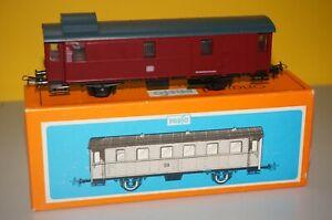BOX28/18] H0--PREFO -5452511/5/15 (DC) ..Gepäckwagen DB OVP neuwertig