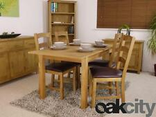Oak Traditional Dining Tables Sets with Extending