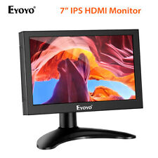 Eyoyo 7 Inch Small HDMI LCD Monitor for Raspberry Pi PC Camera Game Consoles