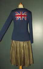 IT HIPPIE  PULL FIN  COLLECTION SUR MOI UNION JACK STRASS T 38/40