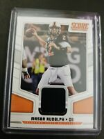 2018 mason rudolph score Jersey card #18 mint condition a very nice card