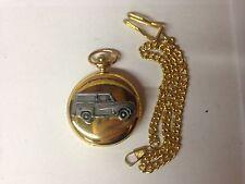 Reloj de bolsillo Austin A35 van ref8 Coche Efecto de estaño en un estuche de oro pulido