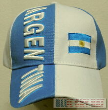 1c0951adb98 ARGENTINA REPUBLIC COUNTRY FLAG FIFA WORLD OLYMPIC GAME SOCCER CUP TEAM CAP  HAT
