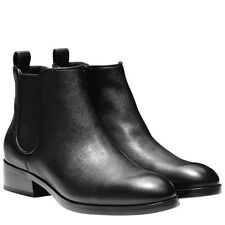 7d2643e72d8b Cole Haan Womens Landsman Bootie - Black Leather New!