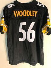 Reebok Women's Premier NFL Jersey Pittsburgh Steelers Woodley Black sz XL