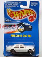 HOT WHEELS Mattel 1990 MERCEDES 380 SL vintage #4206