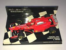 Minichamps F1 1/43 FERRARI 1997 versione di lancio Show Car-Eddie Irvine 3333pcs