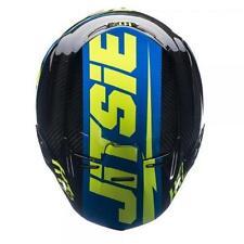 Gloss Carbon Fibre Open Face Motorcycle Vehicle Helmets