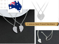 Love Heart Pendant Chain Necklace Best Friend Birthday Gift for Girls/boys