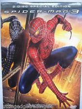 Spiderman 3 (DVD, 2007) 2 Disc Edition NEW SEALED (Nordic Packaging) Reg 2 PAL