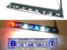 1/18 Flashing LED Police Interior Visor Headliner Lightbar Custom Diecast Model