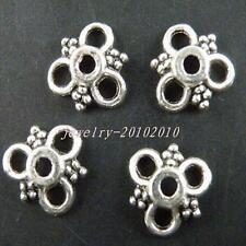 250pcs Tibetan Silver Nice Flower Bead Caps 10x3mm 8938
