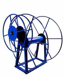 Electric Carpet Cleaning Hose Reel For Vacuum & Solution Hoses