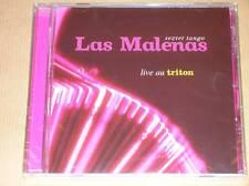 CD / LAS MALENAS LIVE AU TRITON / SEXTET TANGO / NEUF SOUS CELLO
