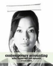 Contemporary Accounting 7th edition ISBN 9780170181587