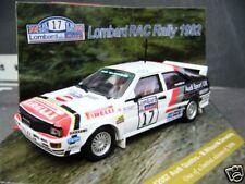 Audi Quattro Rallye RAC gb 1982 wilson #17 pirelli sutton UK vitesse 1:43