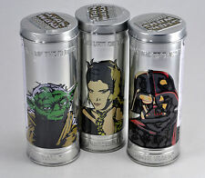 NEW - Set of (3) 2005 Burger King Star Wars Reversible Watches - Sealed in Tins