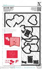 Xcut 15 pc A5 die Pop up card love Hearts Valentine Use Sizzix eBosser X cut etc