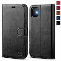 OCASE iPhone 11 Case, Premium PU Leather iPhone 11 case [TPU Inner