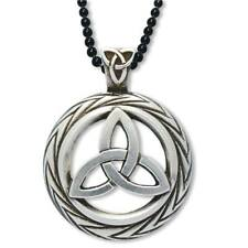 *Celtic Traditions Triquetra Lim. Ed. Pendant Necklace Wiccan Pagan Jewelry CT1