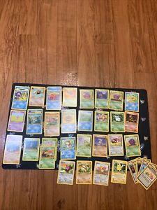 Pokemon Cards lot of 40 Vintage 1999 WOTC Jungle Fossil Set Common Uncommon Nm