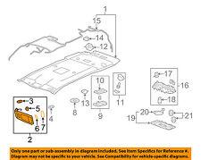 GM OEM Sunvisor-Sun Visor Left 22794665