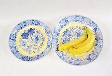 Vintage SPODE Blue Room JASMINE Serving Bowls Platters ENGLAND Set of 2