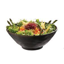 Bol de mélamine APS Marone Noir 240mm buffet dip CAFE buffet bar Ustensiles de Cuisine Salade