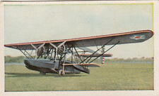 N°268 US Air Force Seaplane Patrol Sikorsky C6a World War Germany WWI 30s CHROMO